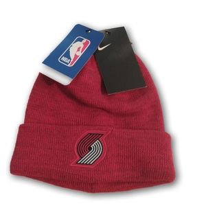 Portland Trail Blazers Nike Dri fit beanie hat cap